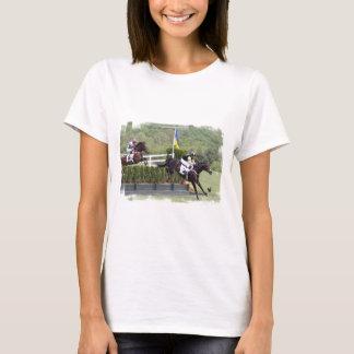 Horses Eventing  Ladies T-Shirt