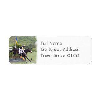 Horses Eventing Mailing Label