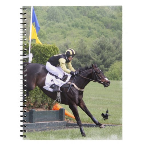 Horses Eventing  Notebook