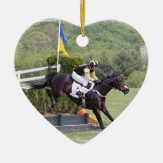 Horses Eventing Ornament
