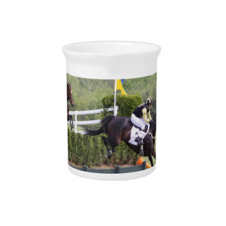 Horses Eventing Pitcher