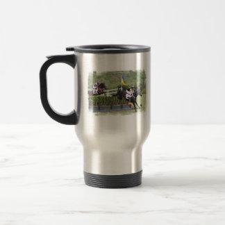 Horses Eventing Travel Mug