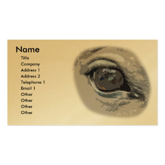 Horses Eye Business Card