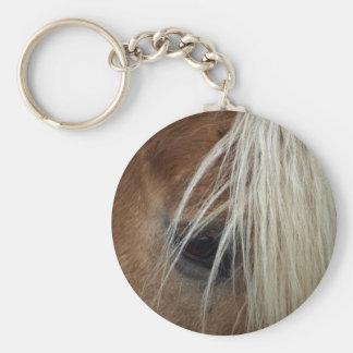 Horse's Eye Equine-lover's Keychain