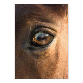 Horses Eye Invitation