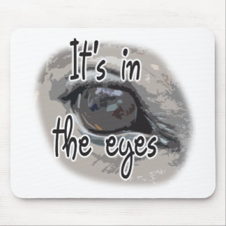 Horse's Eye - It's In The Eyes Mouse Pad