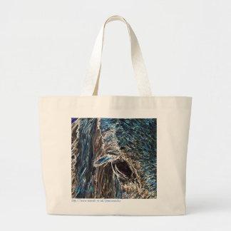 Horses eye jumbo tote bag