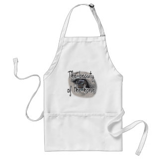Horse's Eye - The Beauty of the Horse Adult Apron