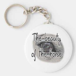 Horse's Eye - The Beauty of the Horse Keychain