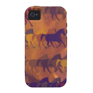 horses farm pattern Case-Mate iPhone 4 cases