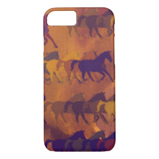 horses farm pattern iPhone 7 case