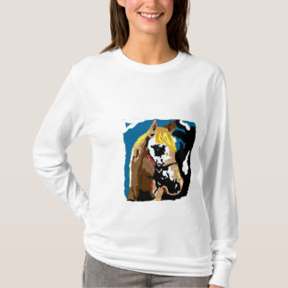 Horses fill our lives with color T-Shirt