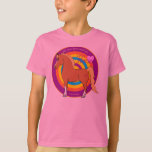 Horses Fill Your Heart With Joy Kids T-Shirt
