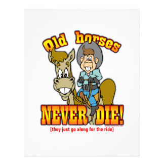 Horses Custom Flyer