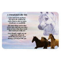 Horses Friend Poem Magnet