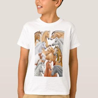 Horses Galore Kids T-Shirt