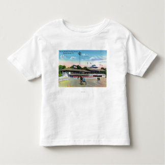 Horses Getting a Morning Workout on the Track T-shirt