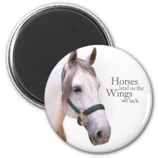 Horses Give Us Wings Magnet