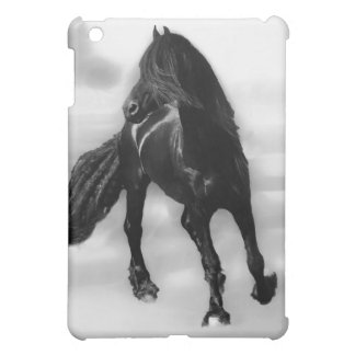 Horses glancing sideways iPad mini cases