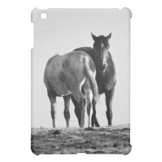 Horses Grazing iPad Case