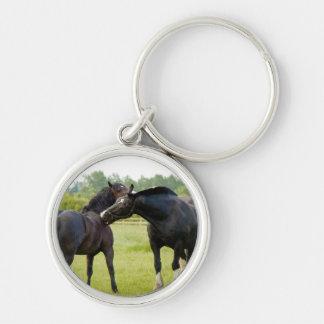 Horses  Grazing Keychain/Keyring Keychain