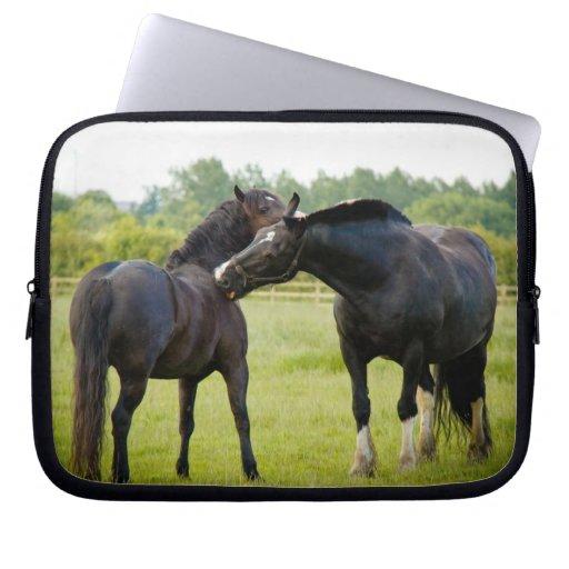 Horses  Grazing Laptop Sleeve