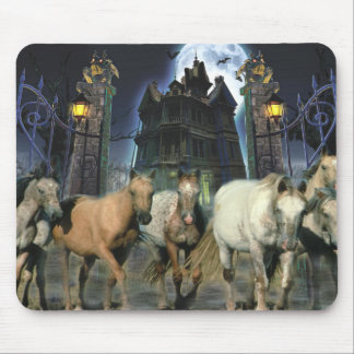Horses Halloween Mousepad