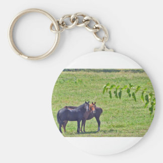 Horses Hanging Around Key Chain