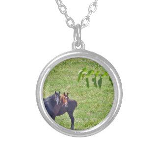 Horses Hanging Around Necklace