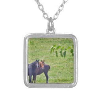 Horses Hanging Around Necklaces