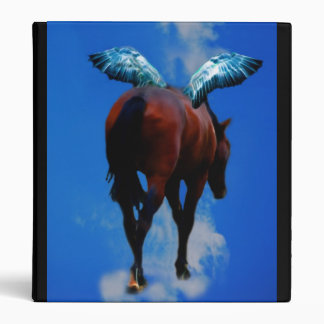 Horses have angels 3 ring binder