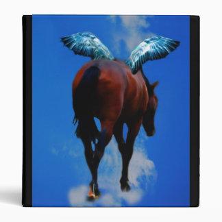 Horses have angels vinyl binder