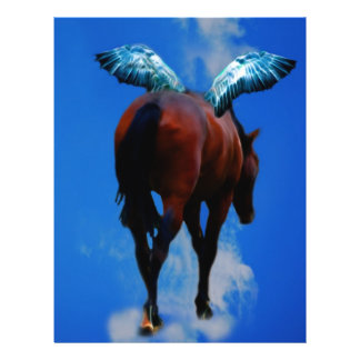 Horses have angels flyer