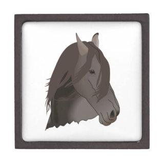 HORSES HEAD PREMIUM KEEPSAKE BOXES