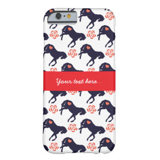 Horses Hearts and Roses Pattern iphone 6s Case