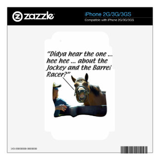 Horses - Horse Laugh Decals For The iPhone 2G
