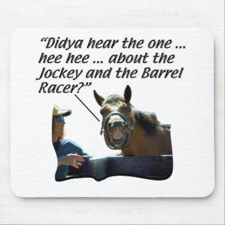 Horses - Horse Laugh Mouse Pad