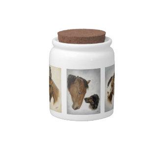 Horses Horses! Candy Jar