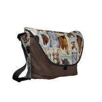 Horses Horses! Messenger Bag
