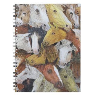 Horses Horses Notebook