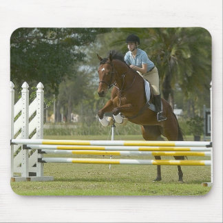 Horses - Hunter-Jumpers Mouse Pads