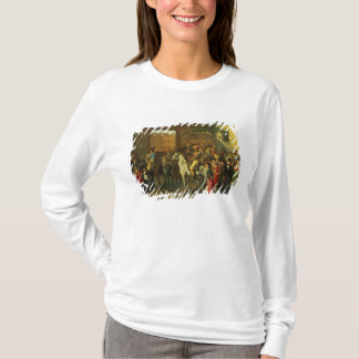 Horses in a Courtyard T-Shirt