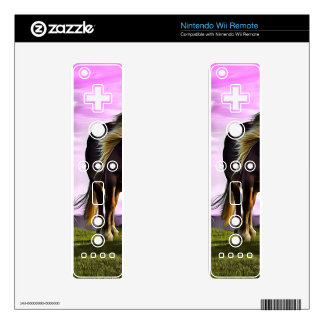 Horses in a magical land wii remote skin