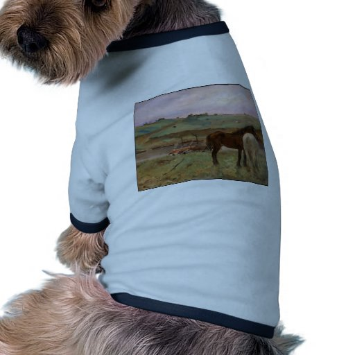 Horses in a Meadow Pet Tee
