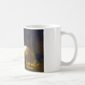 Horses in a Stable Coffee Mug