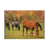 Horses in Autumn Cover For iPad Mini