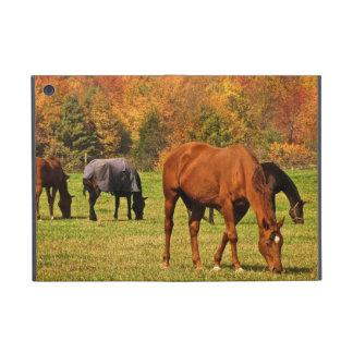 Horses in Autumn Cover For iPad Mini
