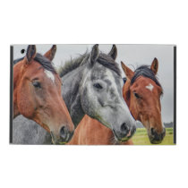 Horses In Autumn iPad Case