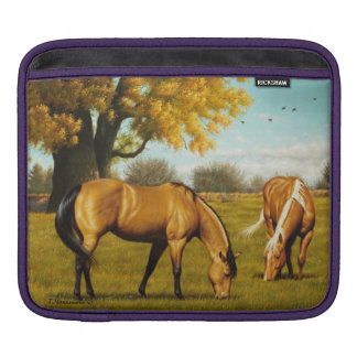 Horses in Fall Colors Sleeve For iPads