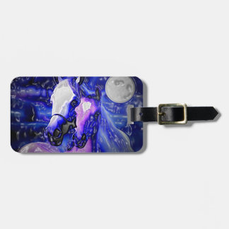 Horses in Love Luggage Tag